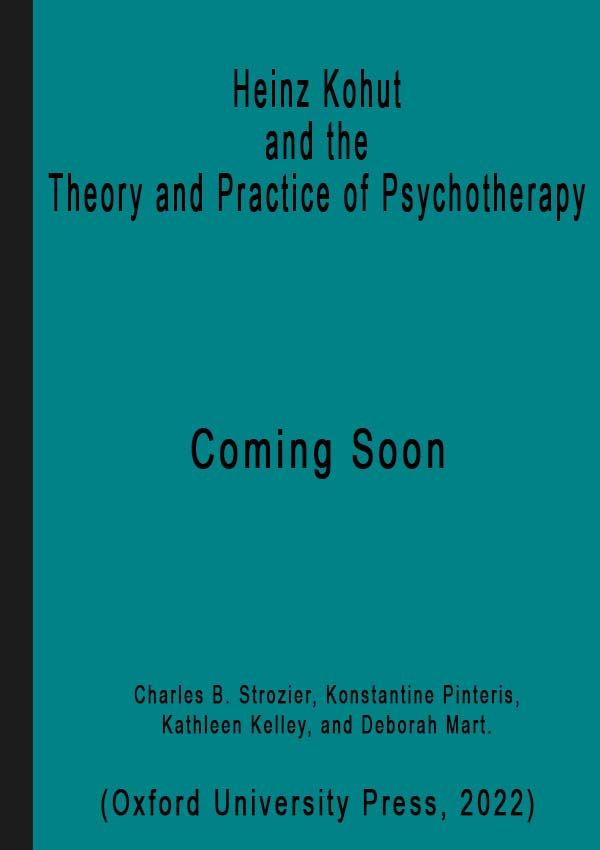 temp cover for Heinz Kohut and the Theory and Practice of Psychotherapy